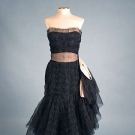 COCO CHANEL COUTURE EVENING DRESS, 1950s