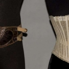 LADY'S CORSET, c. 1890 & MAN'S TRUSS, 1855-1865