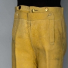 BRITISH CONSUL'S LEATHER BREECHES, BOSTON, 1790
