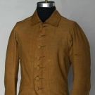 MIDDLE CLASS MAN'S DAY SUIT, RHODE ISLAND, 1780s