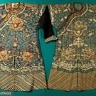 TWO MEN'S SILK KESI JIFU, CHINA, 1850-1890