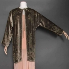 FORTUNY STENCILED VELVET COAT, VENICE, 1920-1930