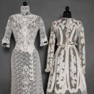 TWO LACE TEA GOWNS, 1905-1908