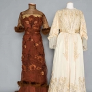 ONE EVENING & ONE TEA GOWN, 1905-1909