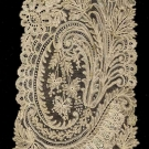 HAND MADE LACE SCARF, 1890-1910