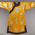 EMBROIDERED OCHER COAT, CHINA