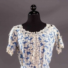 BUTTERFLY PRINT DAY DRESS, 1930
