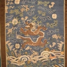 TWO CHINESE KESI PANELS, 19th C