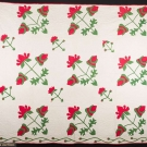 ROSE OF SHARON QUILT, 1850-1870