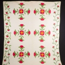COXCOMB APPLIQUE QUILT, 1859