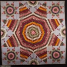STAR OF BETHLEHEM MASTERPIECE QUILT, PENNSYLVANIA, 1860