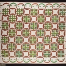 LeMOYNE STAR QUILT, TENNESSEE, 1850-1870