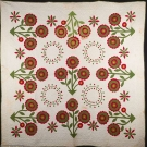 FLOWER POT & FEATHERED STAR QUILTS, AMERICAN, 19th C.