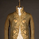 GENTS EMBROIDERED COAT, c. 1770