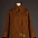 RUST GABARDINE W/ SOUTACHE JACKET, c. 1915