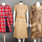 BILL BLASS COAT-DRESS ENSEMBLE & MINI COAT, 1960-1970s
