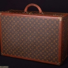 LOUIS VUITTON ALZER 60 HARD SUITCASE, 1960-1970s