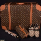 VUITTON, HERMES & BURBERRY ITEMS, 1960-1970s
