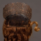 HAIR COMB & RINGLET HAIR PIECES, 1830-1840