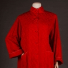 KATHARINE HEPBURN RED AT-HOME GOWN