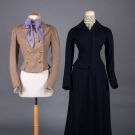 TWO LADIES TAILORED WOOL GARMENTS, 1890s