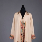 EGYPTIAN APPLIQUE DAY COAT, 1920s