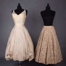 TWO AMERICAN DESIGNER PARTY GARMENTS, 1950s