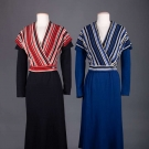 TWO LADIES WOOL JERSEY ENSEMBLES, EARLY 1930s