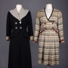 TWO LADIES DAY DRESSES, 1925-1935