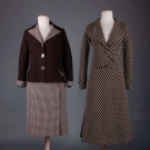 TWO LADIES SKIRT SUITS, 1930s