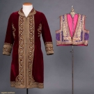 TWO ETHNIC GARMENTS, MIDDLE EAST & INDIA