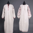 TWO EMBROIDERED LINEN DRESSES, UKRAINE, 20TH C