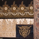 FOUR GOLD EMBROIDERED TEXTILES, 19TH C