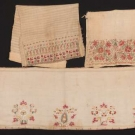 THREE EMBROIDERED COTTON TEXTILES, MIDDLE EAST, 19TH C