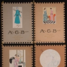 FOUR ISSUES AGB FASHION MAGAZINE, FRANCE, 1921-1923