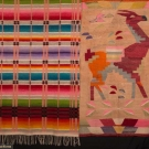 MEXICAN BLANKET & BOLIVIAN RUG, EARLY-MID 20TH C