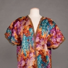 PRINTED COTTON ROBE