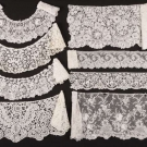 SAMPLES OF HANDMADE LACE YARDAGE