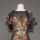 SILK TEA GOWN, 1930s