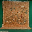 LARGE JAPANESE PICTORIAL EMBROIDERY, c. 1920
