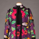 DONALD BROOKS PRINTED DAY ENSEMBLE, LATE 1960s