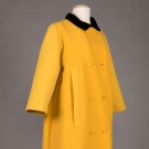 YELLOW WOOL EISA/BALENCIAGA COAT, EARLY 1950s