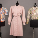 TWO NOVELTY BLOUSES & ONE DRESS, 1940-1946
