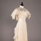 TRAINED LINGERIE GOWN, c. 1908