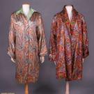 TWO LAMÉ EVENING COATS, EARLY 1920s