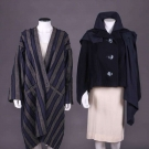 TWO ISSEY MIYAKE COATS, JAPAN, 1980s & MODERN