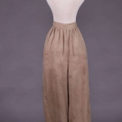 RARE LADIES DRESS REFORM TROUSERS, c. 1870