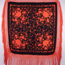 EMBROIDERED CANTON SHAWL, 1920s