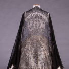 CHANTILLY LACE SHAWL, 1850s
