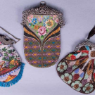THREE BEADED FRAME BAGS, FRANCE & LONDON, 1890-1920s